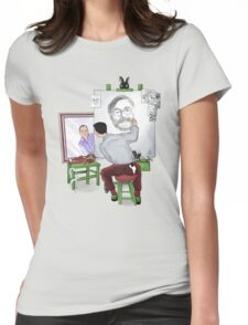Animator self portrait Womens Fitted T-Shirt