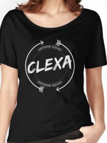 CLEXA DEFENSE SQUAD Women's Relaxed Fit T-Shirt