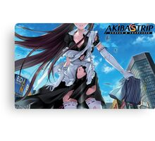 AKIBA´S TRIP cover Canvas Print