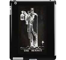 Tarot - The Hermit - Black iPad Case/Skin