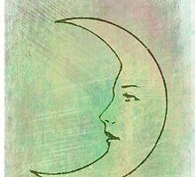 La Luna - The Moon - Tarot by TexasBarFight