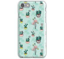 Botanical Wonder (blue version) iPhone Case/Skin