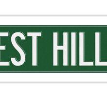J Cole 2014 Forest Hills Drive Sticker