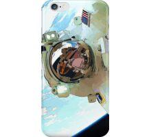 Space Walk - Astronaut Selfie iPhone Case/Skin