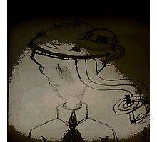sigara içen kurbaga Photographic Print