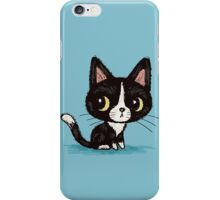 Cute black kitten iPhone Case/Skin