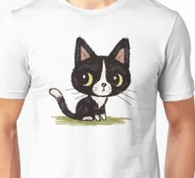 Cute black kitten Unisex T-Shirt