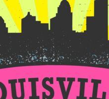 Local Author Louisville Kentucky (Pinks) Sticker