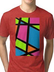 Geometric Colours Tri-blend T-Shirt