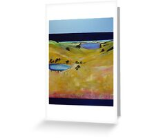 John Brown Gerringong Golf Course Greeting Card