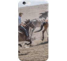 Chasing them up iPhone Case/Skin