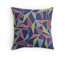 Triangle Mish-Mash Throw Pillow