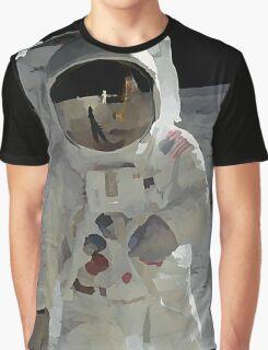 Moon Walk - Apollo Astronaut Graphic T-Shirt