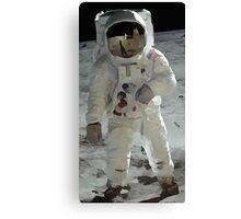 Moon Walk - Apollo Astronaut Canvas Print