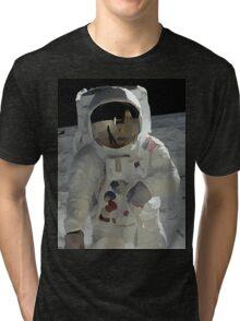 Moon Walk - Apollo Astronaut Tri-blend T-Shirt