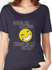 Smiles Women's Relaxed Fit T-Shirt