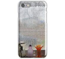 Rain On My Kitchen Window iPhone Case/Skin