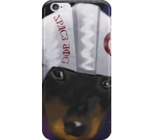 Space Dog - inspired by @luna_89ema iPhone Case/Skin
