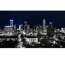 Uptown Charlotte Keep Pounding Photographic Print