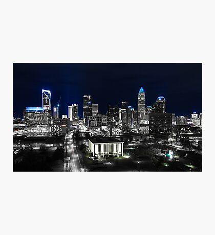 Uptown Charlotte Keep Pounding Photographic Print