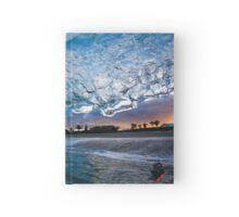 Glassy Sunset Hardcover Journal