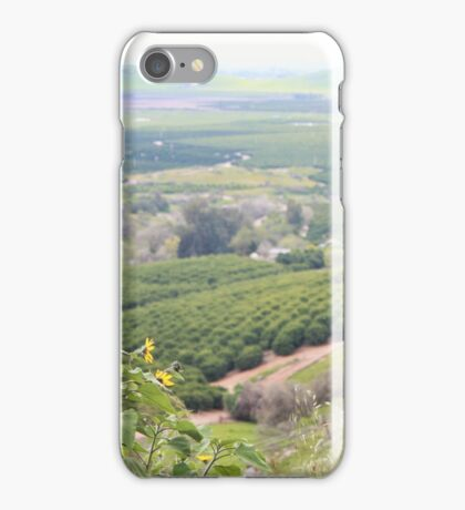 california central valley iPhone Case/Skin