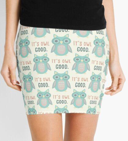 Owl  Mini Skirt