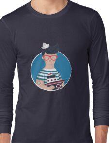 Funny Sailor Long Sleeve T-Shirt
