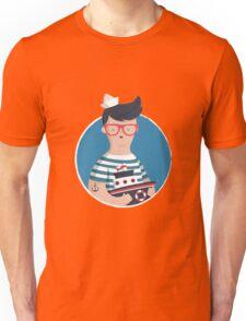 Funny Sailor Unisex T-Shirt