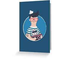 Funny Sailor Greeting Card