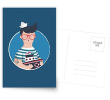 Funny Sailor Postcards