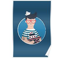 Funny Sailor Poster