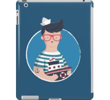 Funny Sailor iPad Case/Skin