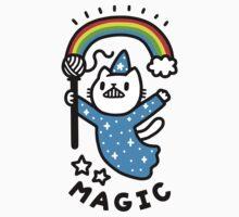 Magical Wizard Cat One Piece - Short Sleeve