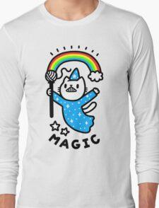 Magical Wizard Cat Long Sleeve T-Shirt
