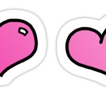 Valentine Hearts Sticker
