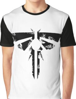The Last of Us Grunge Firefly Emblem Graphic T-Shirt