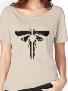 The Last of Us Grunge Firefly Emblem Women's Relaxed Fit T-Shirt