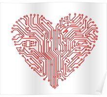 Circuit Heart  Poster