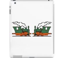 Steam Locomotives railroad small iPad Case/Skin