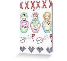 Bad Mummas Greeting Card