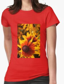 Painted Ladies Womens Fitted T-Shirt
