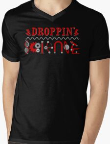 Droppin' Science Mens V-Neck T-Shirt