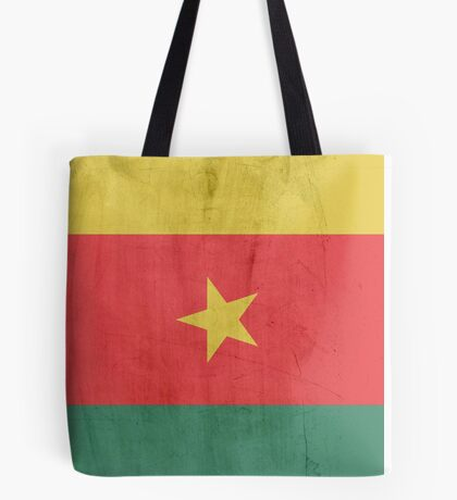 Flag cameroon Tote Bag