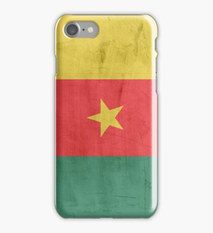 Flag cameroon iPhone Case/Skin
