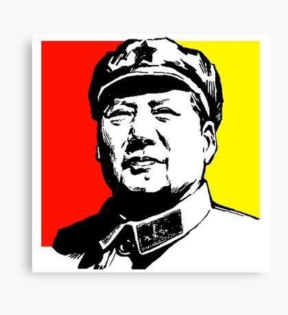 CHAIRMAN MAO Canvas Print