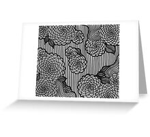 Flower Flow Greeting Card