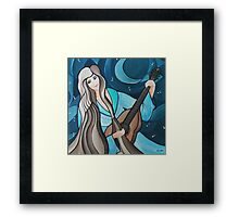 Nine Strings of My Heart Framed Print