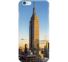 Empire State Building At Dusk iPhone Case/Skin