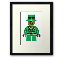 zombie leprechaun Framed Print